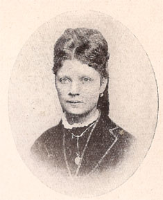 Portret Theodora Bouwmeester, 1868.